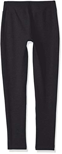 Under Armour Kids Girl's Favorite Knit Leggings (Big Kids) Black/White X-Small by Under Armour (Image #2)