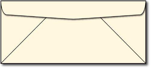 Cream Linen #10 Business Envelopes - 250 - Cream Linen Envelopes