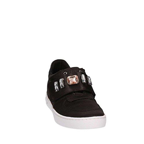 Guess donna sintetico Nero sneaker Flo bassa rFrPHqSn