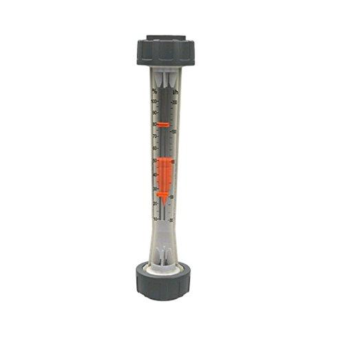 Stübbe installaions Accesorios, Flujo de PVC cantidades Medidor, 40mm, Transparente, 43x 8x 8cm, ad456