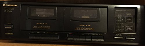 Pioneer CT-W770 Double Cassette Tape Deck Recorder Player Dolby