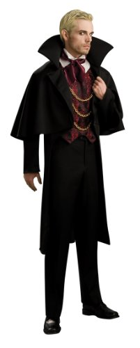 [Rubie's Costume Adult Baron Costume, Black, Standard] (Adult Vampire Halloween Costumes)