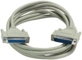 GC ELECTRONICS 45-0355 COMPUTER CABLE, SERIAL, 50FT, PUTTY