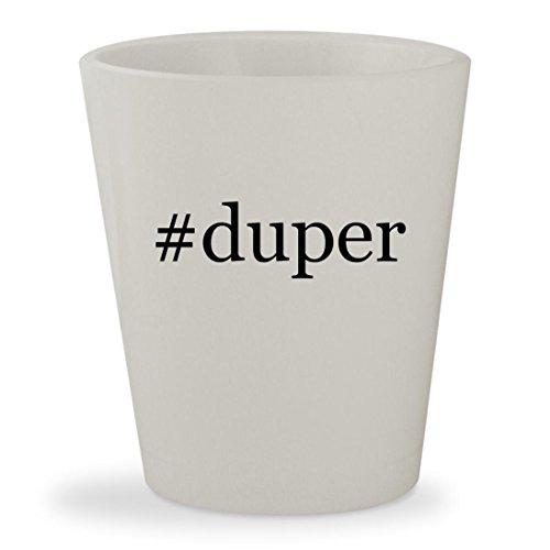 #duper - White Hashtag Ceramic 1.5oz Shot - Karen Walker Bag