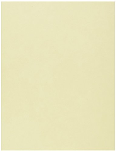 Springhill, Digital Vellum Bristol Cover Ivory, 67lb, Letter, 8.5 x 11, 250 Sheets / 1 Ream, Made In The USA