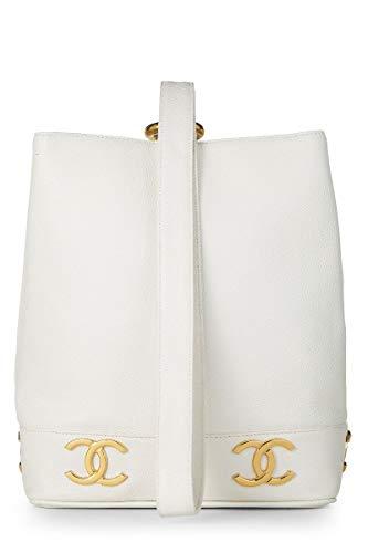 White Chanel Handbag - 9