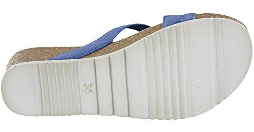 Caviglia Sandali Donna con INBLU Cinturino Jeans Glamour alla Y5AqX