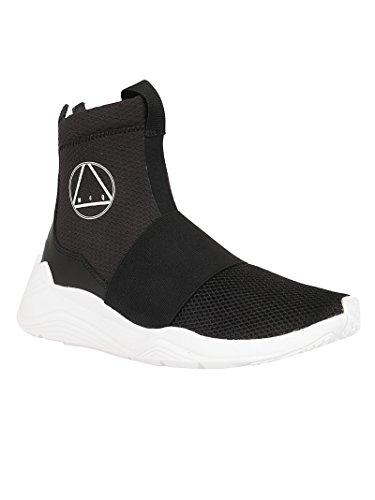 Alexander McQueen Zapatillas Para Mujer Negro Negro It - Marke Größe