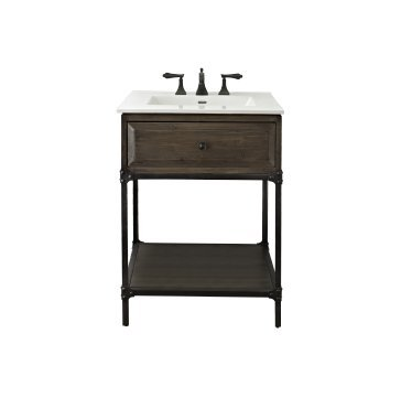 Fairmont Designs 24 Inch Toledo Open Shelf Vanity - Driftwood ()