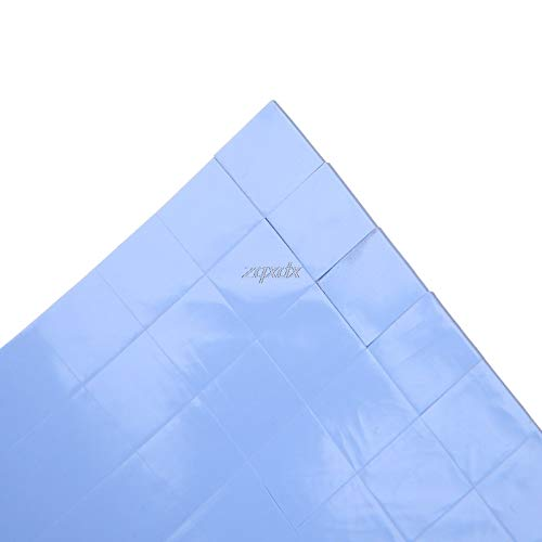 FENGYI 1 Pcs 100x100x1mm GPU CPU Thermal Pad Silicone Heatsink Cooler Conductive Pads