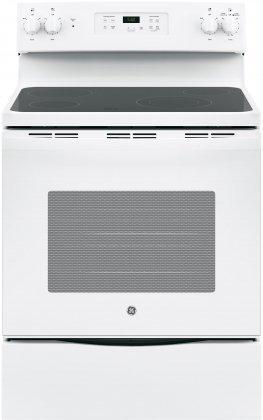 GE JBS60DKWW 30″ White Electric Smoothtop Range