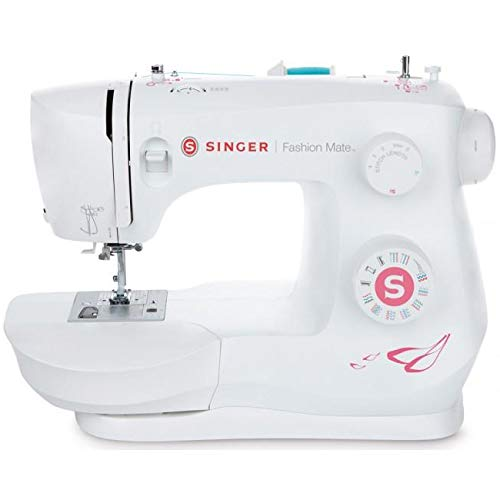SINGER Fashion Mate 3333 Free-Arm Sewing Machine including 23Built-In Stitches Fully Built-in 4-step...