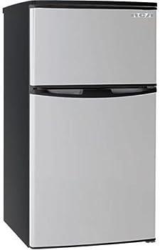 RCA RFR834 3.2 Cu Ft Two Door Mini Fridge with Freezer