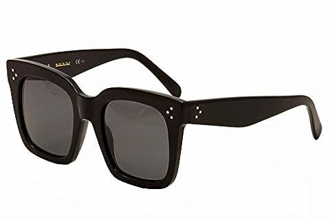 Celine Sunglass CL 41076/S 807 Black Frame