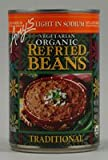 Amy's Organic Refried Beans Traditional Light in Sodium -- 15.4 oz
