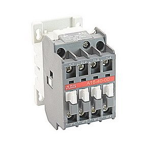 ABB A16-40-00-84 Contactor, 110 - 120 VAC Coil, 17 A at 3-Phase, 30 A at 1-Phase by ABB Group