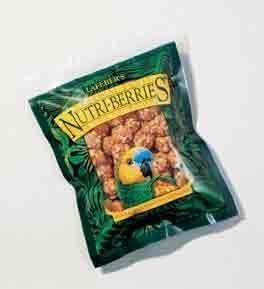 Lafeber's Gourmet Tropical Fruit Nutri-Berries for Parrots 10 oz. Bag, My Pet Supplies