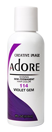 Price comparison product image Adore Creative Image Semi-permanent Hair Color #114 Violet Gem