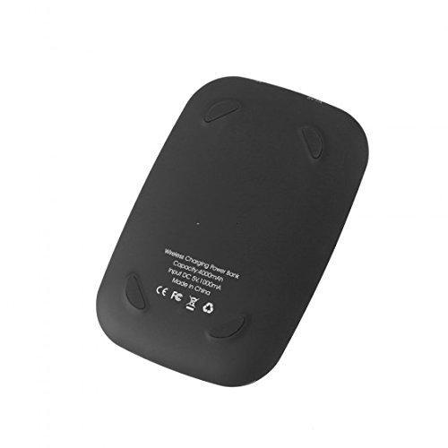 Chicho Qi cargador inalámbrico transmisor Pad externa banco ...