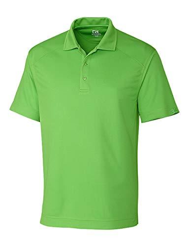 Cutter & Buck BCK00291 Men's CB Drytec Genre Polo Shirt, Cilantro - LT (Mens Drytec Buck Cutter)