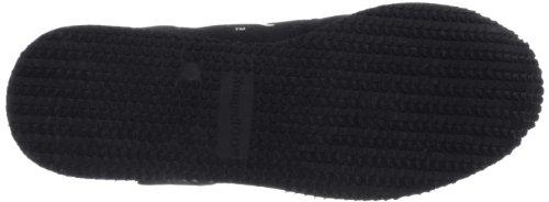 Kangaroos 71490 - Zapatillas de cuero para hombre, color negro, talla Fällt aus Normal Negro