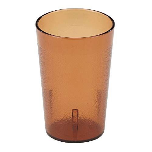 - Cambro 800P153 7.8 -Ounce Capacity 2-5/8-Inch Diameter by 4-Inch Height Amber Plastic Colorware Tumbler