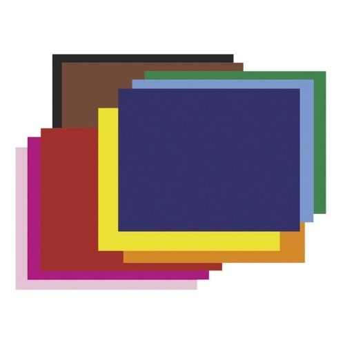 Pacon Colored Four-Ply Poster Board, 28 x 22, Assortment, 25/Carton