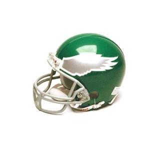 Philadelphia Eagles Miniature Replica NFL Throwback Helmet w/Z2B Mask