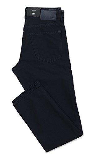 Hugo Boss Maine3-10 Trim Fit Cotton Five Pocket Pant - Navy - 38 x 30