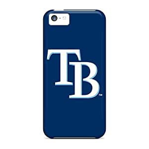 Fashion Protective Baseball Tampa Bay Rays 3 Case Cover For Iphone 5c