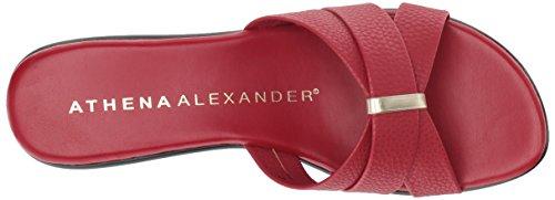 Athena Alexander Kvinners Serra Kile Sandal Red
