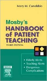 Read Online Mosby's Handbook of Patient Teaching 3th (third) edition Text Only PDF ePub book
