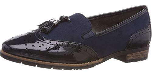 navy 21 Women''s Softline 24260 805 Loafers Blue Xw8qTzEvq
