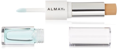ALMAY Clear Complexion Concealer (0.15 Oz) plus Treatment (0.08 Oz) Gel, Medium