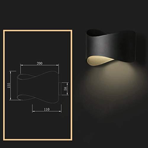Iron Art Bedside Lamp Bedroom Living Room Bathroom Spotlight Mirror Headlights Stairs Lights Wall Lamp/Wall-Mount Lamp/Wall Hanging Lamps, BOSS LV ()