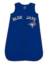 MLB Toronto Blue Jays Toddler Sleeper Sleeping Sack Infant Sleeper Blanket Sleep Bag Royal Blue 0-6 Months