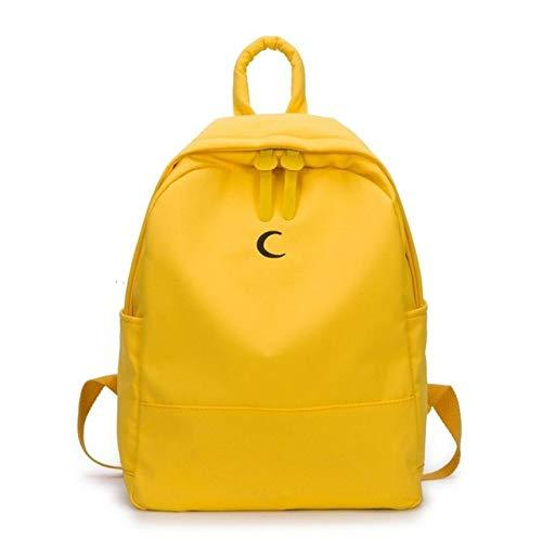 30817f7b9924 YELLOWnjra QWKZH Backpacks Preppy Style Student School School Bags ...