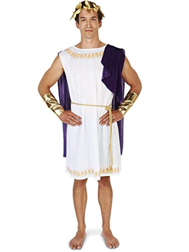 White Toga (Short) Man Adult -