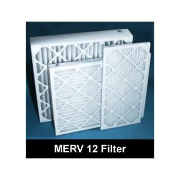 20 X 25 X 4 Merv 12 Case Of 6 Furnace Air Filters