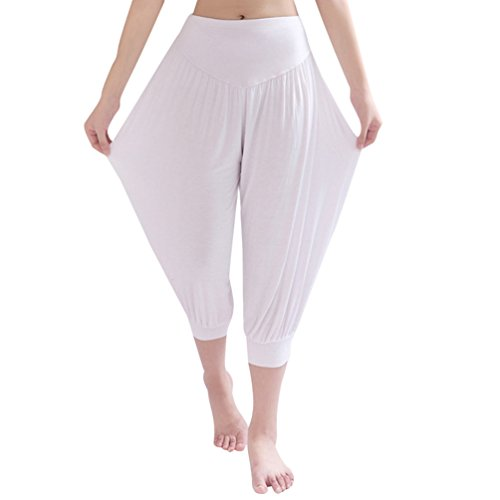 Bianca Sentaoa Danza Sport Yoga Da 4 Running Pantaloni Harem Pantaloni Pantaloni Gym 3 Aladin Donna Pilates qzwqZnBrax