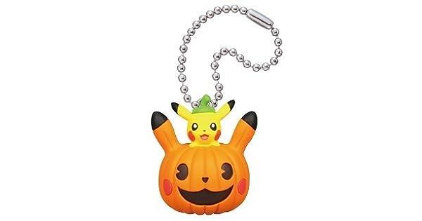 Amazon.com: Pokemon Pikachu Halloween Figura Swing Llavero ...