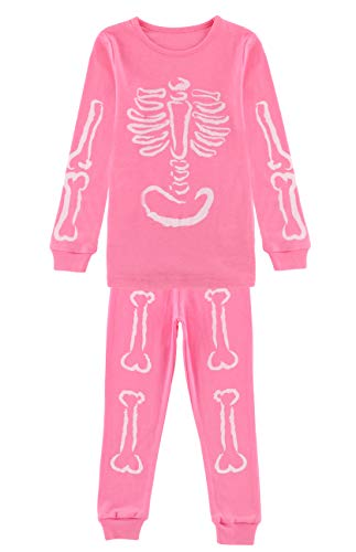 Fiream Big Girls Cotton Pajamas Halloween Costum Sleepwear Sets(SY003,6-7YRS) -