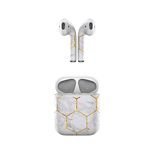 Skin Decals for Apple AirPods - Honey Marble - Sticker Wrap