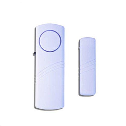 [4 Stü ck] Skert Sicherheitstresor Magnetische Tü r/Fenster Alarm - Fenster und Tü r Eintrag Alarm Set Ideal Ihre Tü r und Fenster zu schü tzen Alarmanlagen