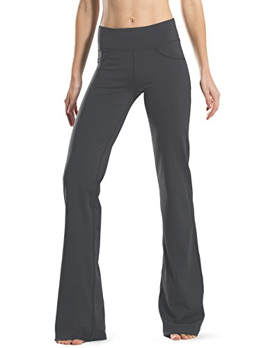 Safort C Tall Bootcut Yoga Pants Gray XXL
