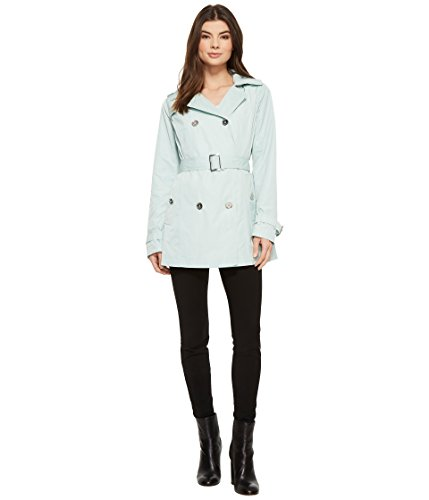 - Michael Michael Kors Women's Short Double Breasted Trench M723285F Mint Large
