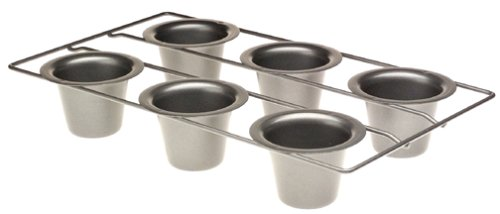 Chicago Metallic Gourmetware Nonstick 6-Cup Popover Pan