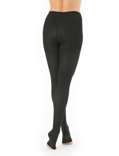 acfbbb52f229d NEO G Pantyhose Compression Hosiery (Open Toe) - LARGE - Black - Medical  Grade