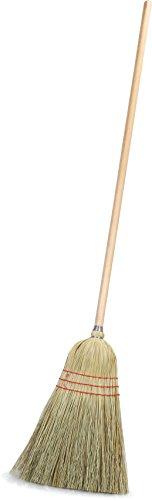 Carlisle 4134967 Warehouse Broom with Wood Handle, 10
