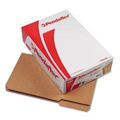 Reinforced Top File Folders, 11 Point, 1/3 Tab, Legal, Kraft, 100/Box ESSRK15313 by Pendaflex Essentials